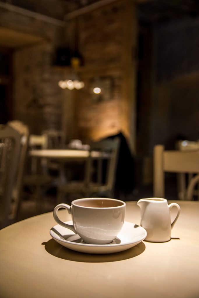 Tallin - miasto kafejek i aromatycznej kawy.